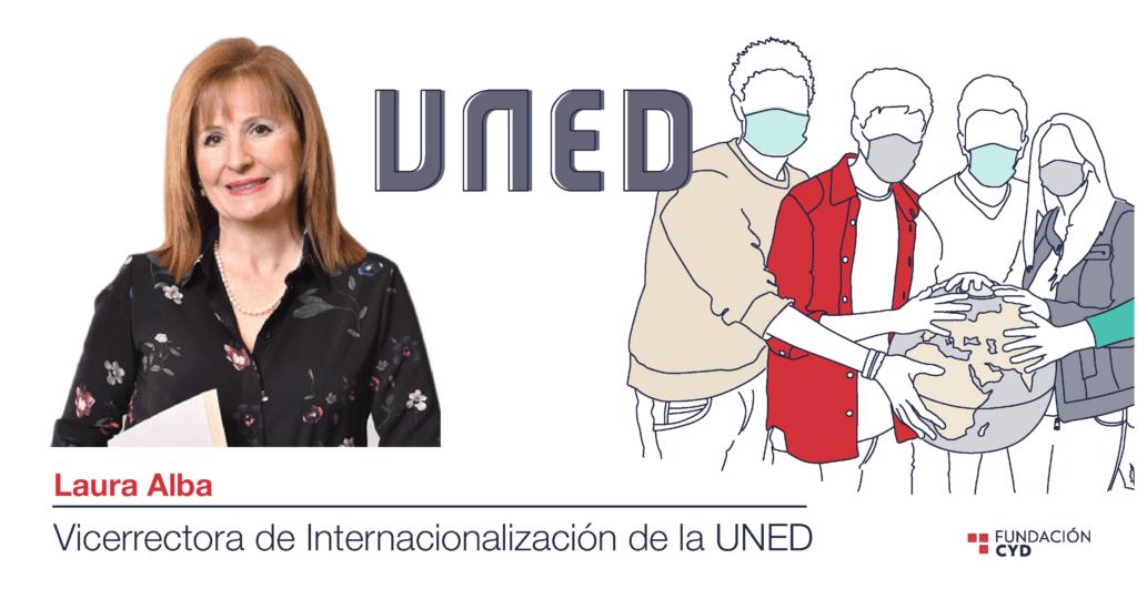 Internacionalización educativa, según Laura Alba (UNED)