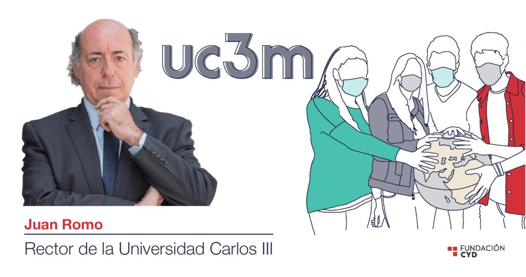 Juan Romo (UC3M) analiza la internacionalización de la universidad española