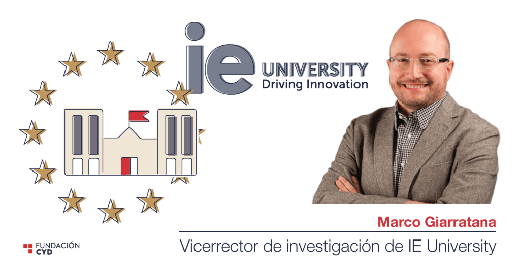 Marco Giarratana (IE University) y la internacionalización del sistema universitario.